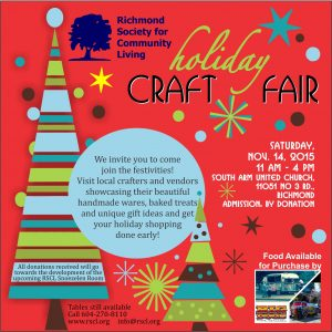 RSCL Craft Fair 2015